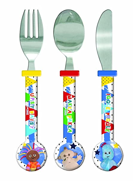 Spearmark In The Night Garden Round Cutlery Set  sc 1 st  Amazon UK & Spearmark In The Night Garden Round Cutlery Set: Amazon.co.uk ...