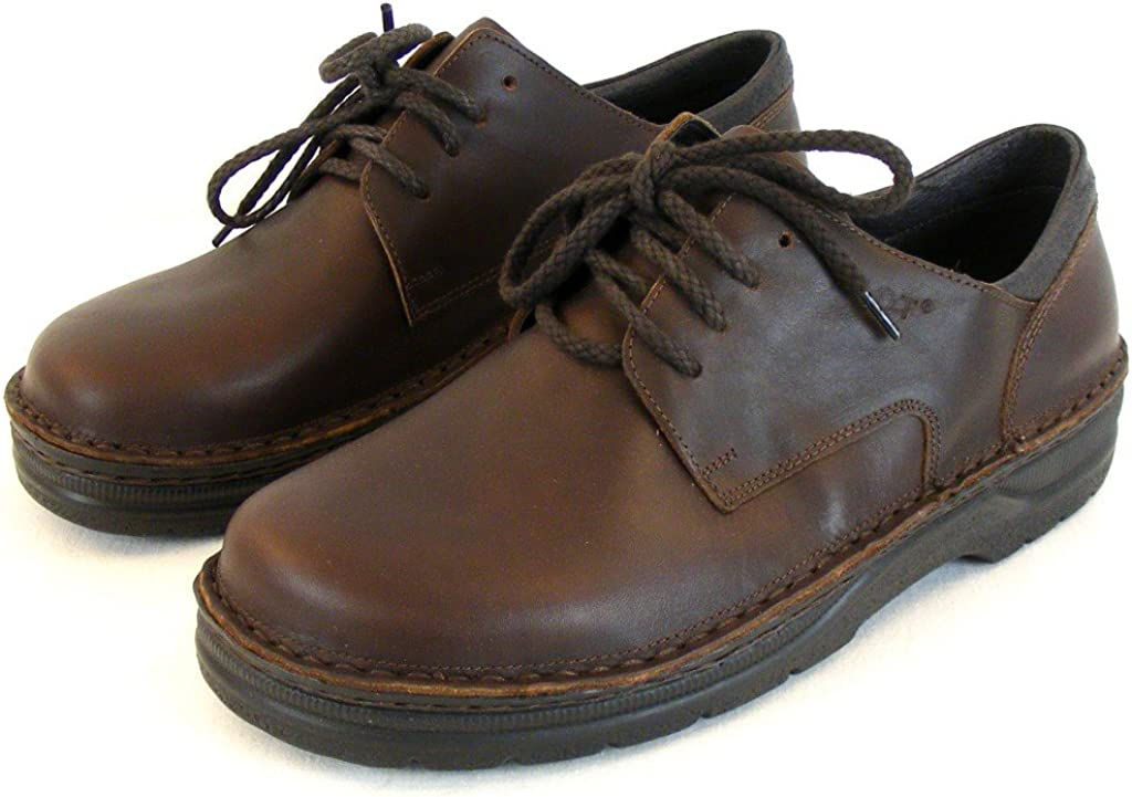 Naot Chaussures pour Homme Lacets Chaussures Basses Denali Cuir Marron 10416/Changement de Pied lit