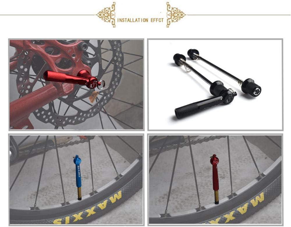 Bike Bicycle Wheel Locking Security Quick Release Skewers Anti Theft Skewer Set