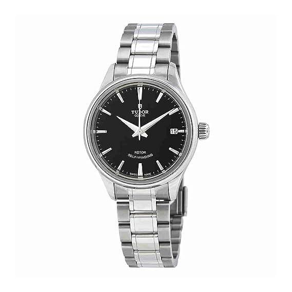 Tudor 12300-0002 - Reloj automático para hombre, esfera negra
