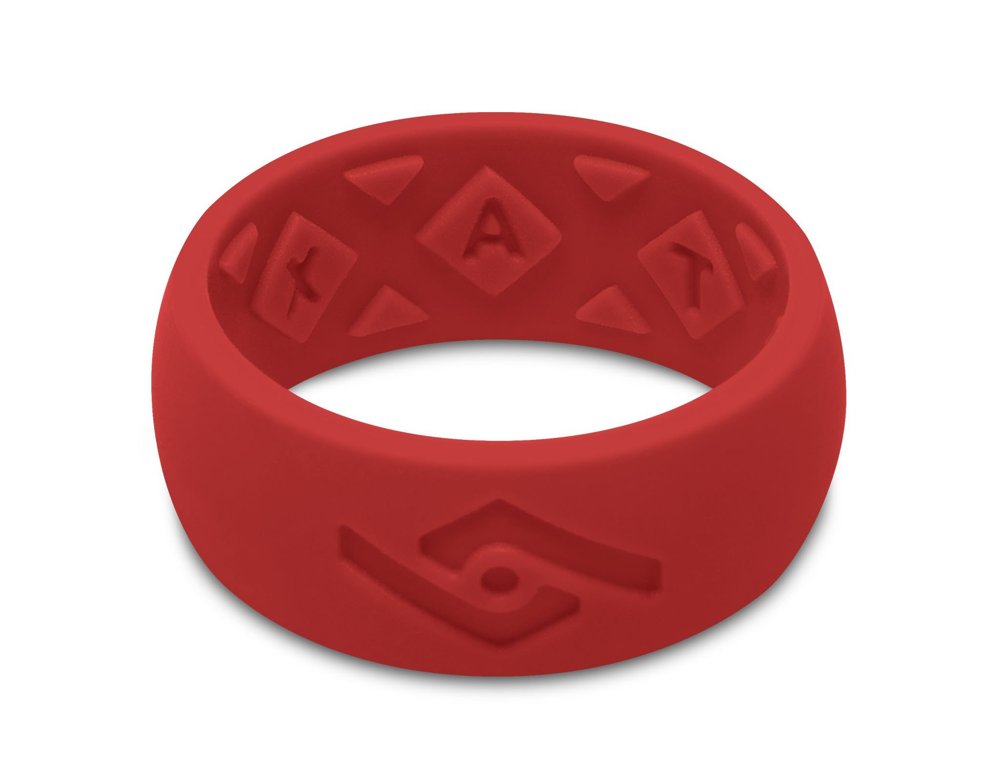 Fixate Designs Men's 2017 FX8 X-Vent Silicone Ring in Multiple Colors and Sizes