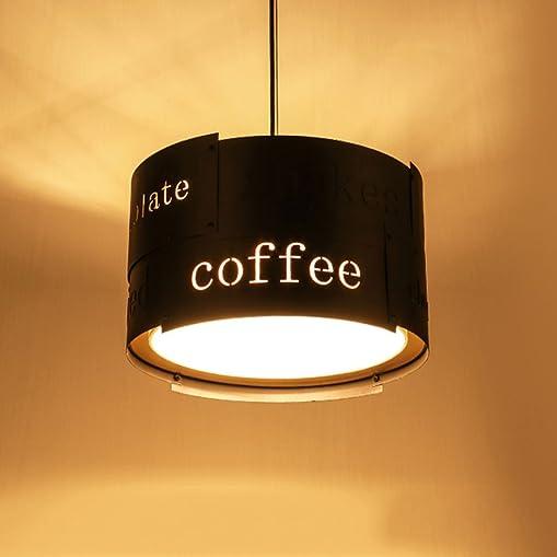 MILUCE Industrial Fountain Creative Creative Lifestyle Restaurant Lights Vintage Cafe Chandelier Color Black