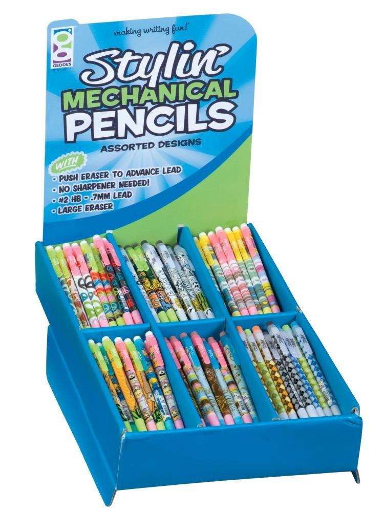 Raymond Geddes Stylin Mechanical Pencil Super Assortment, 216 Pieces (68237)
