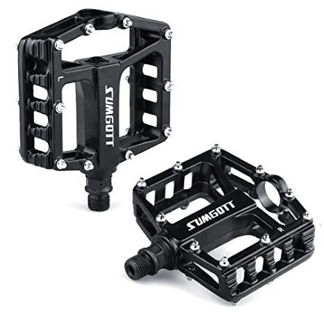 b11931e26ed Sumgott metal bike pedals mountain bicycle pedals with aluminum alloy  platform for bike jpg 466x466 Metal