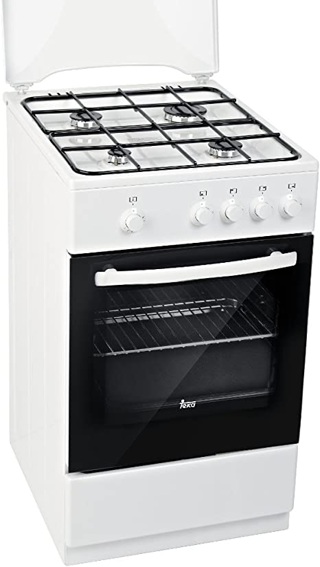 Teka FS 501 4GG W LPG - Cocina (Cocina independiente, Negro ...