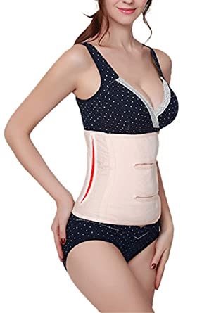 d0f690721b727 Women Postpartum C-section Maternity Recovery Belly Band Support Belt Wrap  Girdle Body Shaper pregnacy at Amazon Women s Clothing store