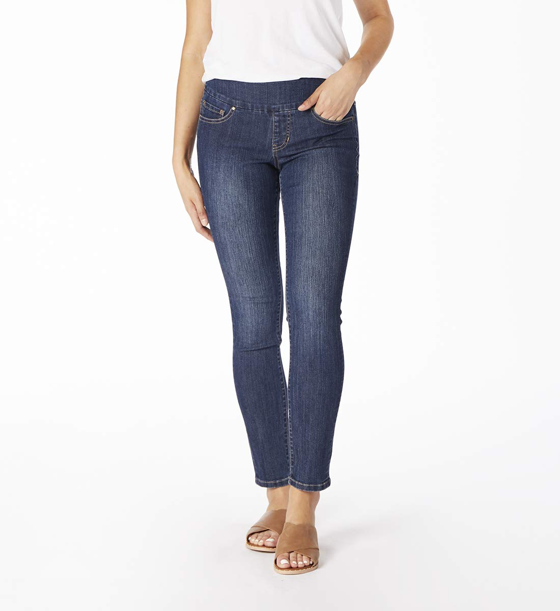 Jag Jeans Women's Nora Skinny Pull on Jean, Anchor Blue, 2