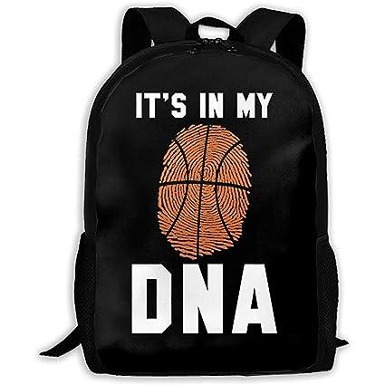 Baloncesto Está en mi ADN Mochilas Deportivas duraderas ...