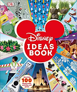 Book Cover: Disney Ideas Book: More than 100 Disney Crafts, Activities, and Games