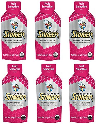 Honey Stinger Organic Energy Gel – Fruit Smoothie 6 x 1.1oz Packs
