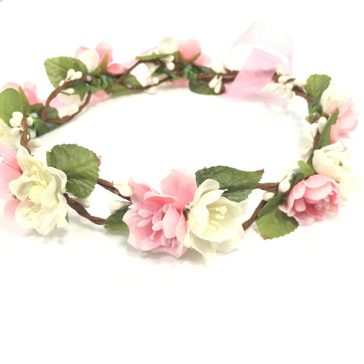 Amazon Bridal Flower Crown Floral Crown Wedding Wreath