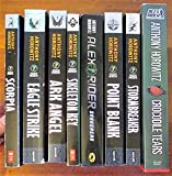 Alex Rider Set including Stormbreaker, Point Blank, Skeleton Key, Eagle Strike, Scorpia, Ark Angel, Snakehead, & Crocodile Tears