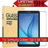 Galaxy Tab E 9.6 Glass Screen Protector, (T560) AnoKe(0.3mm 9H) Tempered Glass Screen Protector Film Sheild For Samsung Galaxy Tab E 9.6 T560 Glass