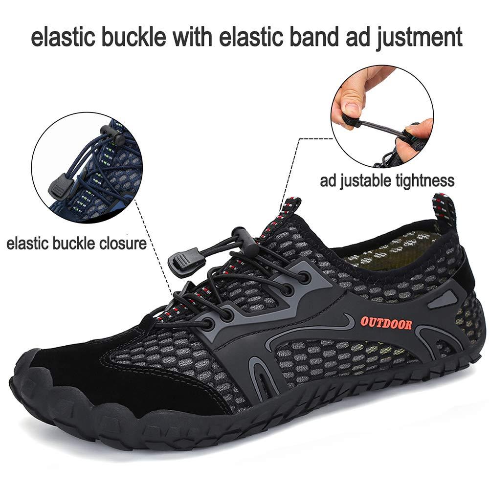 Dannto Zapatillas de Senderismo para Hombre Negro Negro 39 EU