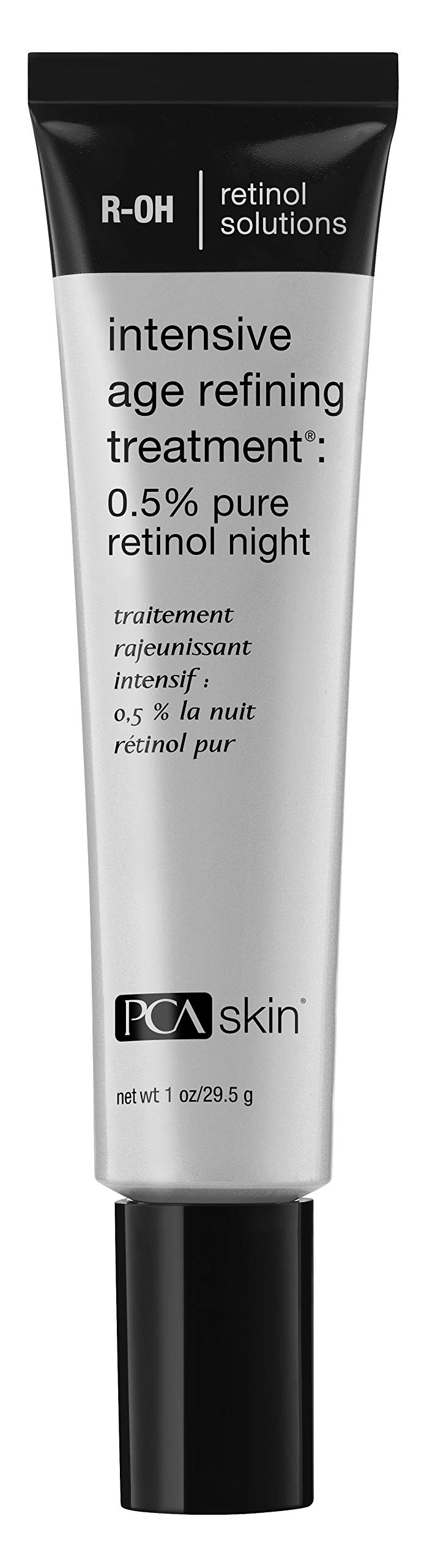 PCA SKIN Intensive Age Refining Treatment - 0.5% Pure Retinol with OmniSome Delivery Technology Fights Fine Lines & Wrinkles for Mature Skin (1 oz)