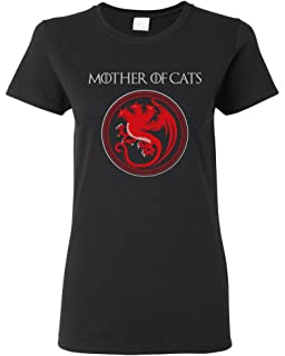 Mother Of Cats Pet Animals Dragons Funny TV Parody DT Youth Kids T-Shirt Tee