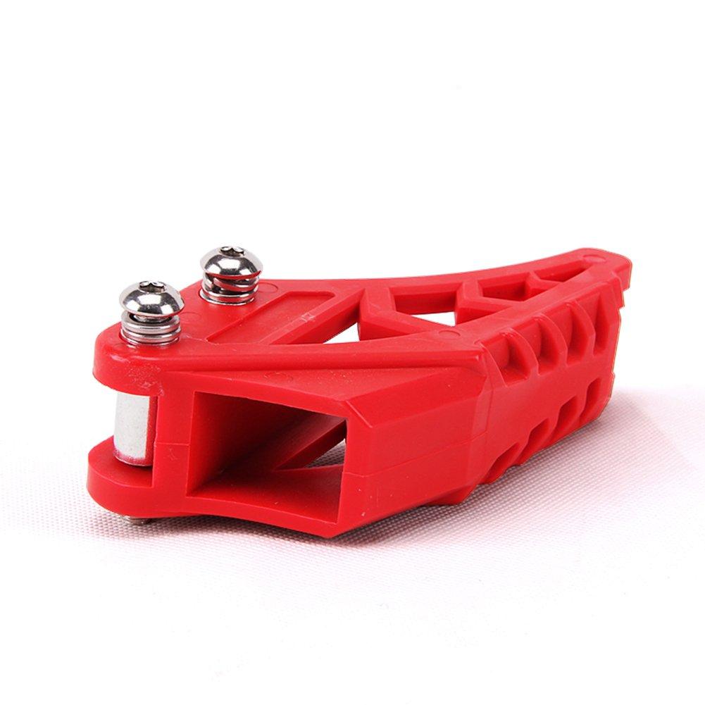 125CC Dirt Pit Bike Chain Guard Guide Protector 110 150 200CC SDG KLX Apollo Red