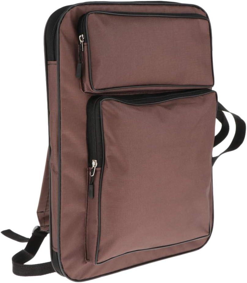 caf/é sharprepublic 8K A3 Bolsa de Paneles de Art/ísta Bag para Dibujar Pintura Contenedor Impermeable 2 en 1 Accesorios de Obras de Arte