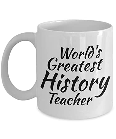 Amazon com: History Teacher Mug Gifts - Teacher Appreciation