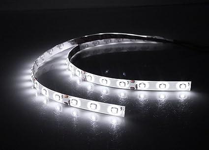 Amazon 12v pvc smd led flexible strip lights 30 cm 2 pieces 12v pvc smd led flexible strip lights 30 cm 2 pieces white aloadofball Gallery