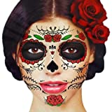 Amazoncom Forum Novelties Day Of The Dead Female Costume Accessory - How-to-do-day-of-the-dead-makeup
