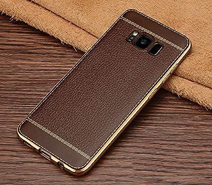 sale retailer 6ff6e 78300 Excelsior Premium Silicon Back Cover case for Samsung Galaxy S8 Plus -  Coffee
