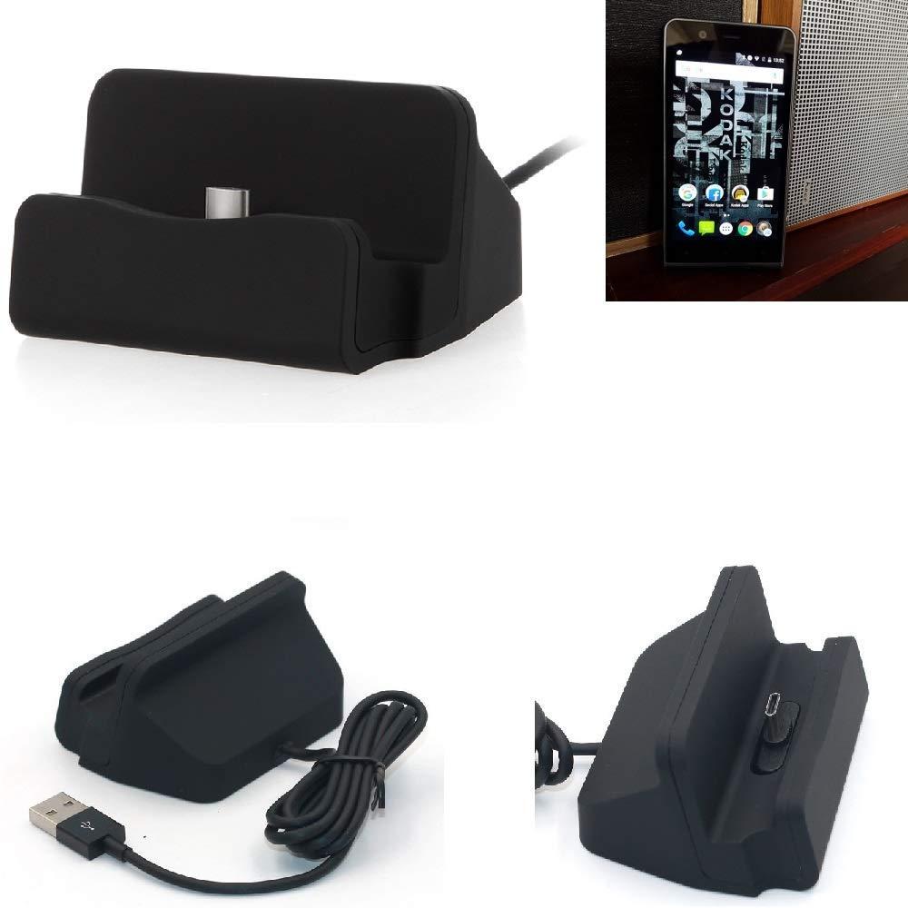 K-S-Trade Dock USB para el Kodak Ektra, Negro | estación de Carga ...