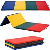 BestMassage Gymnastics Mats Exercise Mat Tumbling Mats for Gymnastics Gymnastics Mats for Home Yoga Mat Exercise Pad Lightwei