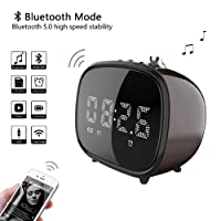Amazon.com deals on Betnew Alarm Clock Wireless Bluetooth Speaker