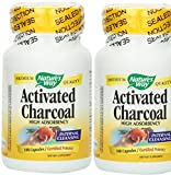 Natures Way Charcoal Activated 560mg (Pack of 2)