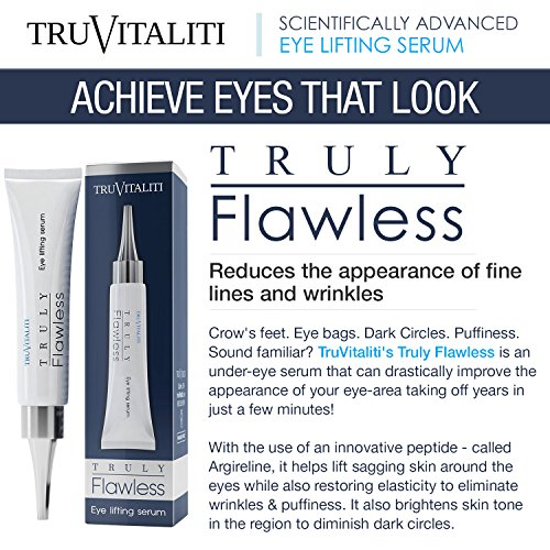 TruVitaliti-Truly Flawless Eye Lifting Serum- Amplifies Anti-Aging Results- Diminishes the Appearance of Fine Line…