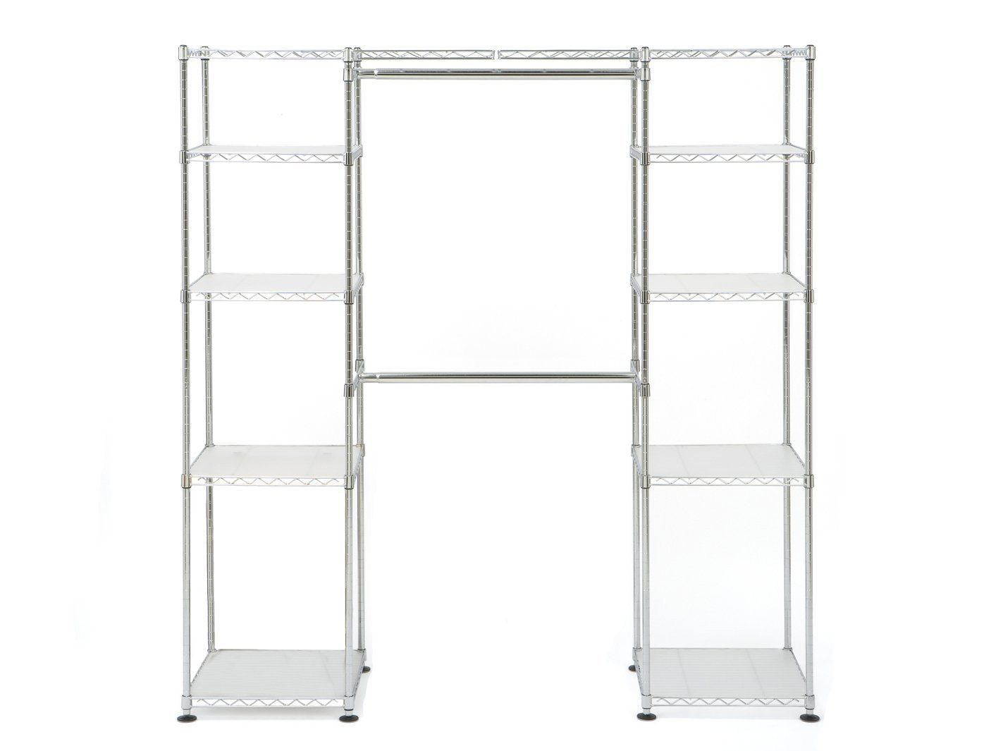 Amazon Seville Classics 14 Deep Heavy Duty Steel Wire Expandable Closet Organizer