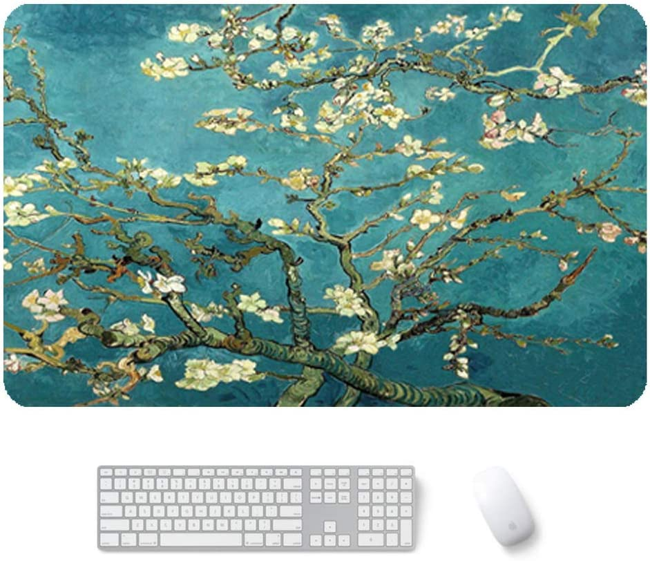4724in SBDLXY Oversized Extended Mouse Pad,Non Slip Mouse Mat Large Thick Desk Pad Anti-fray Stitched Keyboard Pad Table Pad Mouse Mat-d 120x60cm