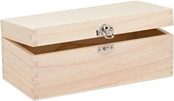 GLOREX 6 1682 001 – Caja de Madera, Madera de Pino ...