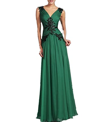 027 GREEN SIZE 8-14 Evening Dresses party full length prom gown ball dress Robe