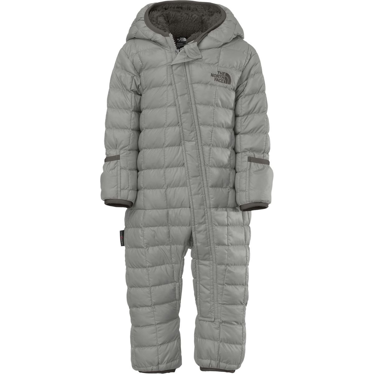 The North Face Infant Thermoball Bunting Metallic Silver 6-12 Months