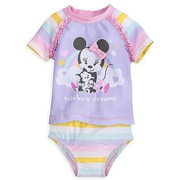 Amazon.com: Disney Minnie Mouse dos piezas traje de baño ...