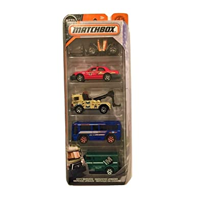 Matchbox 2020 City Service 1:64 Scaled 5-Pack: Toys & Games