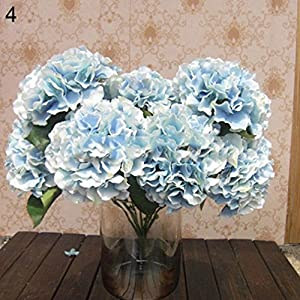 Alcyoneus Artificial Fake Peony Silk Flower Bridal Hydrangea Home Garden Wedding Decor 10
