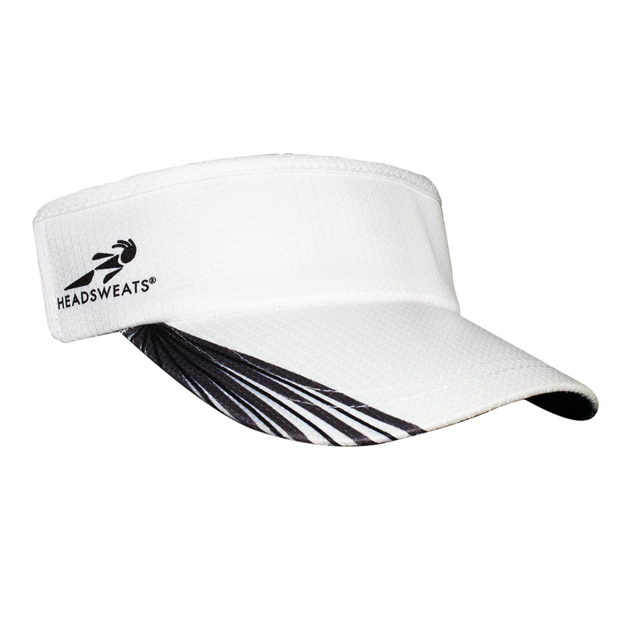 Headsweats Supervisor Grid Headwear Grey/Black/White One Size