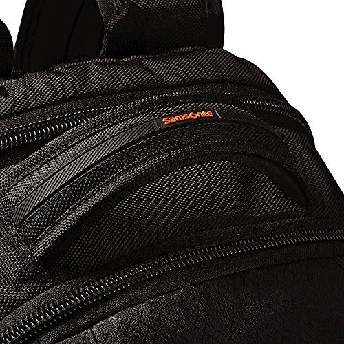 61KEgSiTpnL - Samsonite Tectonic 2 Large Backpack, Black/Orange