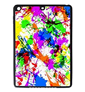 iPad Air pc Silicone Case - Peacock Feather