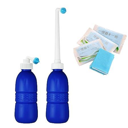 Hibbent Portable Bidet Shower Travel Bidets Bottle For Hand Bidet