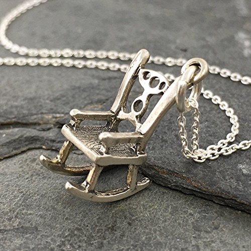 - Rocking Chair Necklace - 925 Sterling Silver