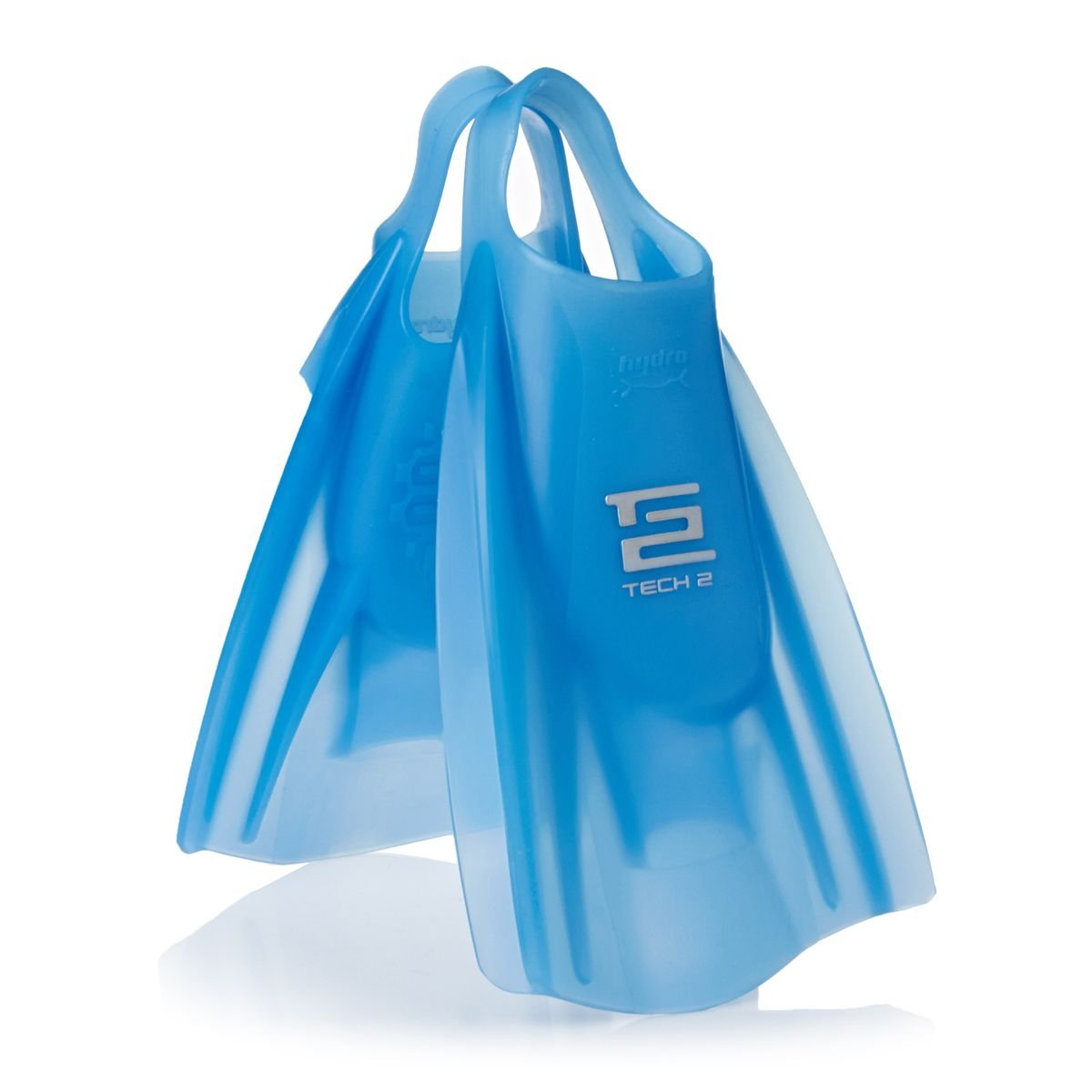 Ice Blue Hydro Tech 2 Swim Fins