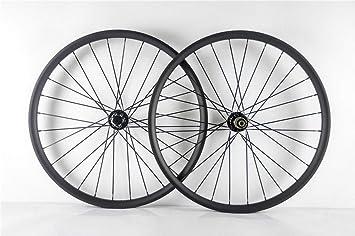 FidgetGear 29ER MTB - Juego de Ruedas de Carbono para Bicicleta (25 mm de Profundidad, 35 mm de Ancho, Ruedas de Carbono XC): Amazon.es: Deportes y aire ...