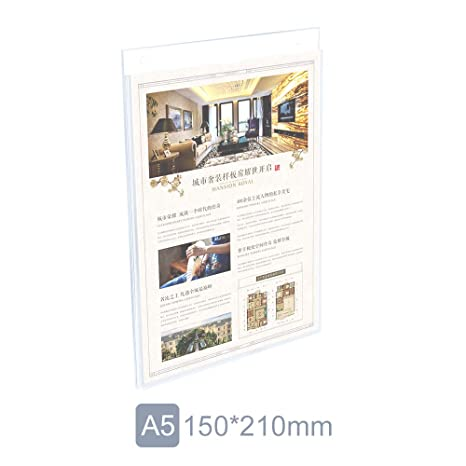Amazon.com: JLP - Soporte de pared acrílico para papeles ...