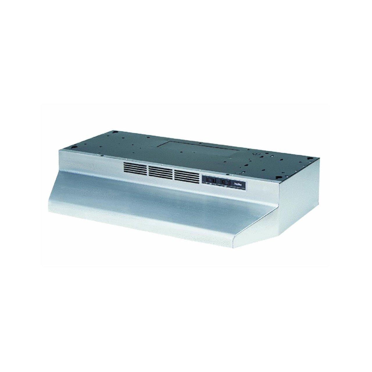 Broan-NuTone 413004 Range Hood, 30-Inch, Stainless Steel (Thrее Расk)