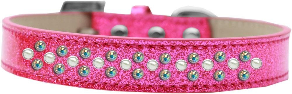 buona qualità Mirage Pet Products Sprinkles Ice Ice Ice Cream Dog Collar con perle e cristalli AB  presa