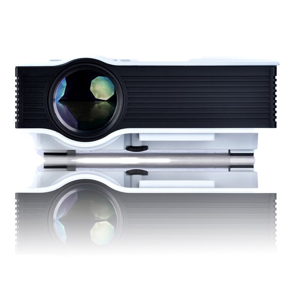 Unic Uc 40 Plus Hdmi Usb Sd Avi Vga Led Projector Buy Proyektor Projektor Mini Portable Uc46 46 Online At Low Price In India